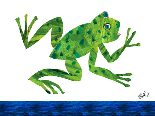 Oopsy daisy Frog by Eric Carle
