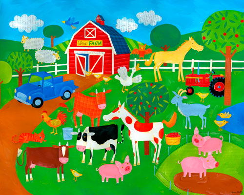 Ideal Farm by Oopsy daisy