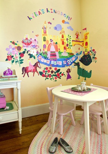 Once Upon a Time Peel & Place Wall Art by Oopsy daisy