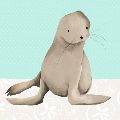 Sam the Sea Lion by Oopsy daisy
