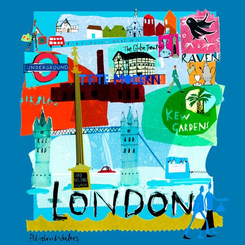 Tour London by Oopsy daisy