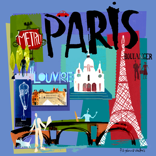Tour Paris by Oopsy daisy