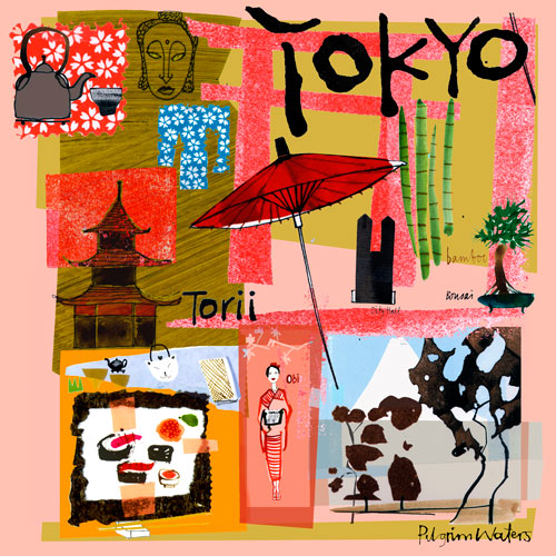 Tour Tokyo by Oopsy daisy