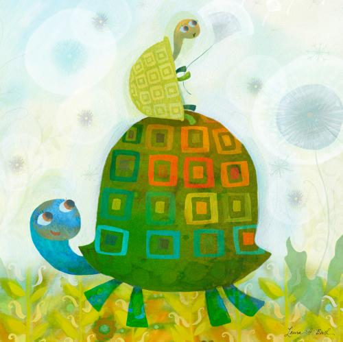 Turtle Wishes by Oopsy daisy