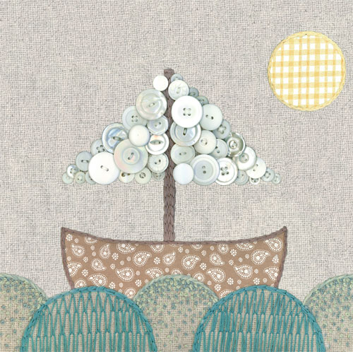 Vintage Boat by Oopsy daisy