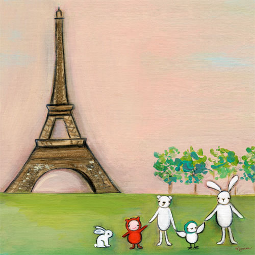 We're in Paris by Oopsy daisy