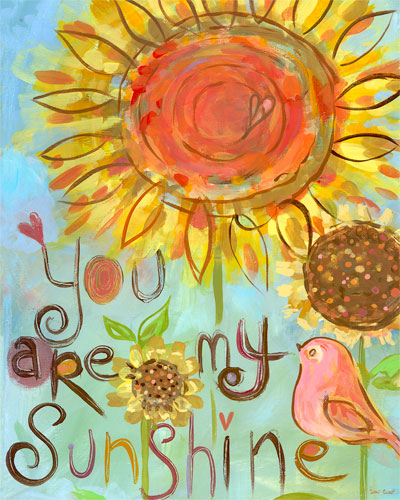 You Are My Sunshine by Oopsy daisy