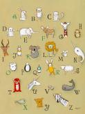Alphabet Zoo by Oopsy daisy