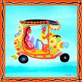 Bollywood Coast Shopper by Oopsy daisy