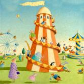 Carnival Rides by Oopsy daisy