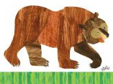 Oopsy daisy Brown Bear by Eric Carle