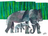 Oopsy daisy Elephant Mother by Eric Carle