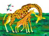 Oopsy daisy Giraffe Mother by Eric Carle
