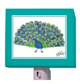 Oopsy daisy Peacock Night Light by Eric Carle