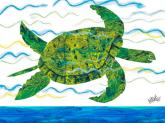 Oopsy daisy Sea Turtle by Eric Carle