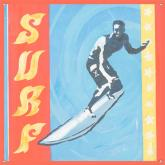 Extreme Sports, Surf Wall Mural by Oopsy daisy