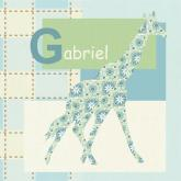 Gentle Giraffe by Oopsy daisy