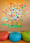 Gumball Tree Peel & Place Wall Art by Oopsy daisy