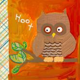 Hoot Goes the Owl by Oopsy daisy