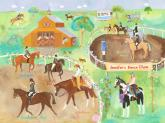 Horse Show by Oopsy daisy