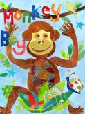 Monkey Boy by Oopsy daisy