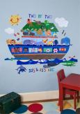 Noah's Ark Peel & Place Wall Art by Oopsy daisy