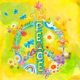 Peace for All by Oopsy daisy