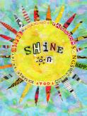 Shine On by Oopsy daisy