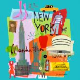Tour New York by Oopsy daisy
