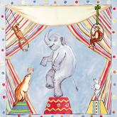 Vintage Circus Animals by Oopsy daisy
