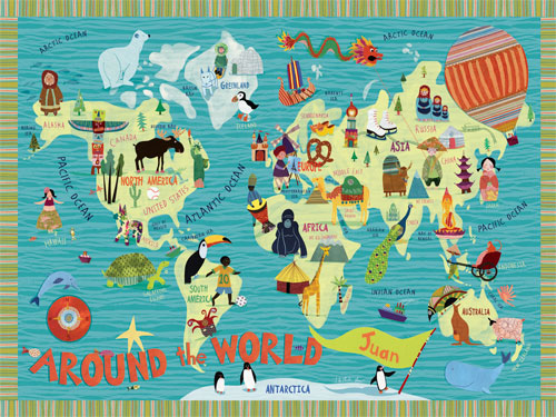 Around the World by Oopsy daisy Thumbnail 1