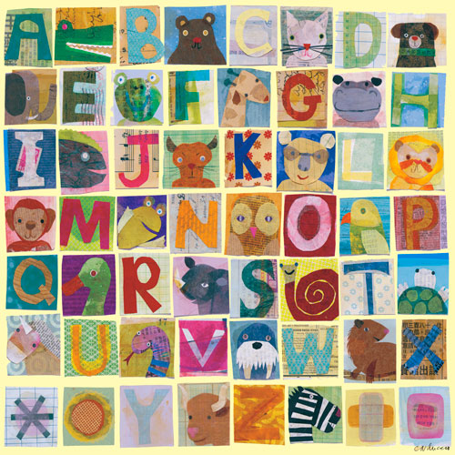 Animal Alphabet by Oopsy daisy