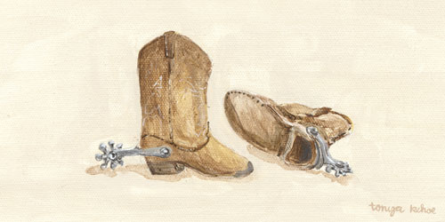 Child's Cowboy Boots by Oopsy daisy