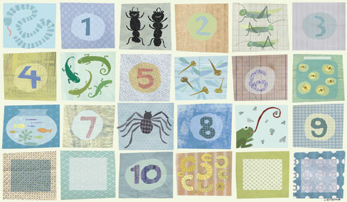 Counting Critters by Oopsy daisy