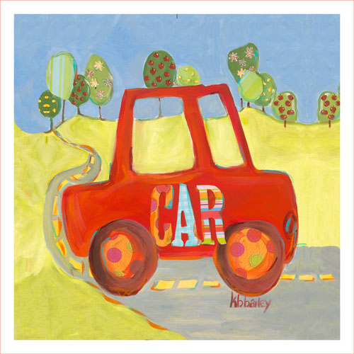 Country Car by Oopsy daisy