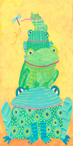 Frog Stack by Oopsy daisy