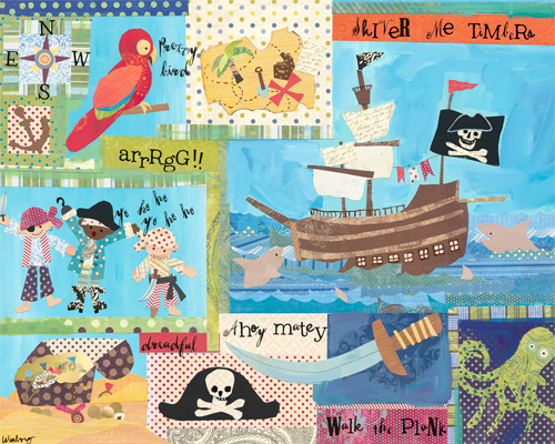 It's a Pirate's Life For Me! by Oopsy daisy