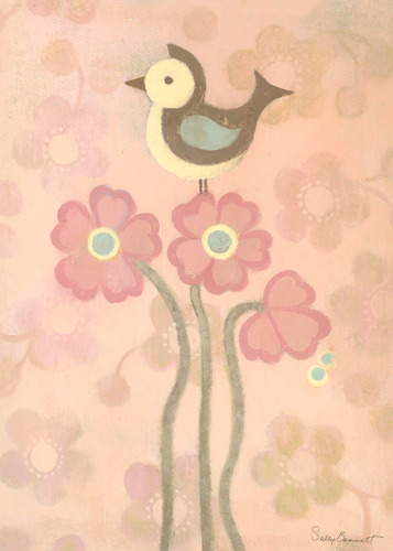 Love Bird, Pink by Oopsy daisy