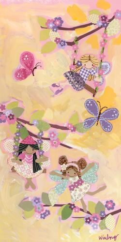 Swinging Fairies by Oopsy daisy