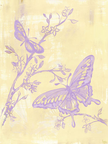 Toile Butterflies by Oopsy daisy