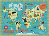 Around the World by Oopsy daisy