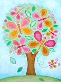Butterfly Tree by Oopsy daisy