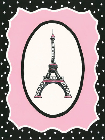 Oui Paris - Eiffel Tower by Oopsy daisy Thumbnail 1