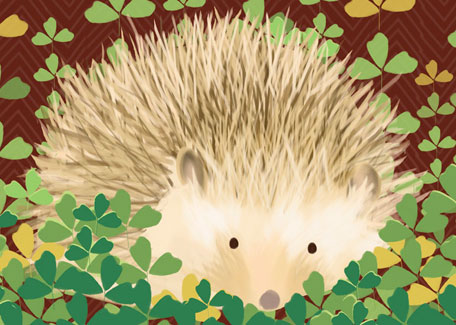 Henry the Hedgehog by Oopsy daisy