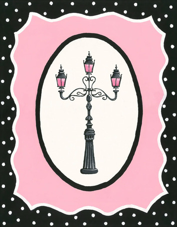 Oui Paris - Light Post by Oopsy daisy