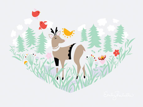 Scenic Heart by Oopsy daisy