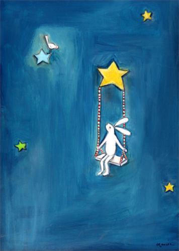 Swinging on a Star by Oopsy daisy