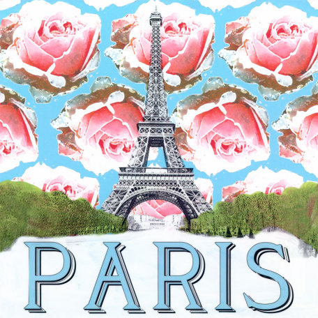 Take Me Away - Paris by Oopsy daisy