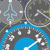 Airplane Gauges by Oopsy daisy
