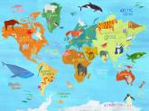 Animals Around The World by Oopsy daisy